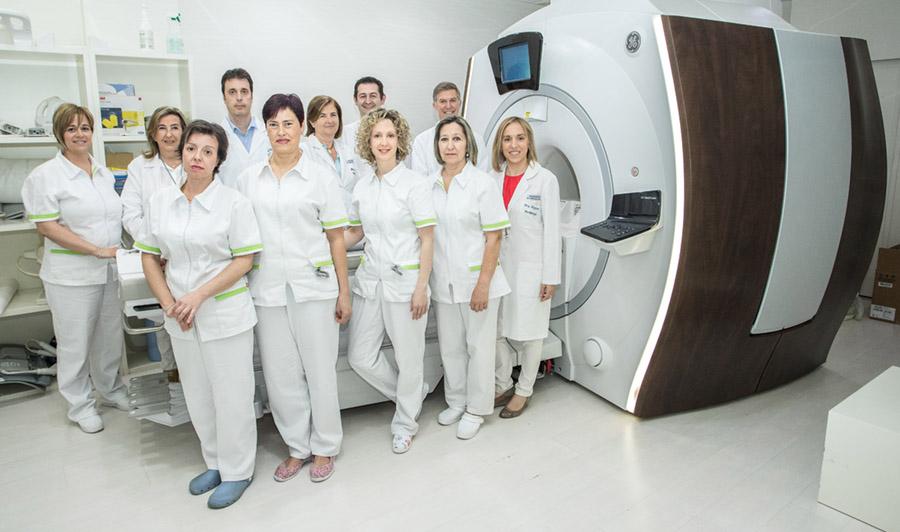 Equipo médico Resonancia Magnética Logroño