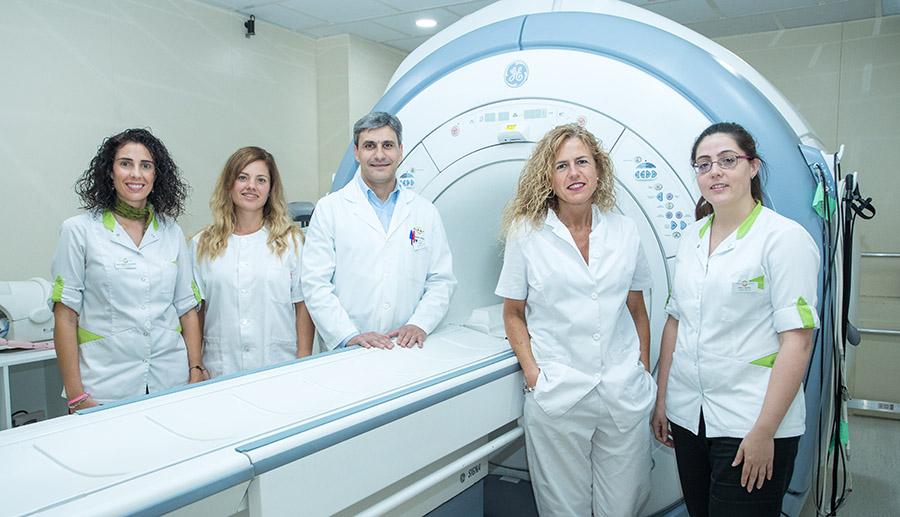 Equipo médico Resonancia Magnética Vitoria